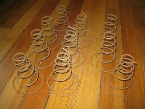 Bakers Dozen 13 Rusty Antique Bed Springs Tornado Spring Arts Crafts Hobby Coil