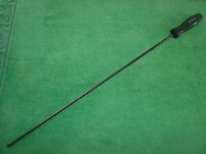 Vintage Snap On Tools No Sddp422 Long Shaft Phillips Screwdriver Made In Usa
