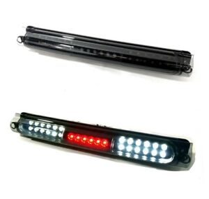 For 97 03 Ford F150 Full Led Third 3rd Brake Light Black Smoke Cargo Lamp