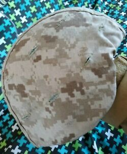 USMC ARMY Mich Helmet  MSA ACH size M with marpat reversible cover