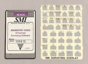 Smi Advanced Cogo Card For Hp 48gx Calculator