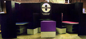 20 Ft Custom Professional Trade Show Booth Including Hd Crates L k 88 000