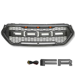 Front Bumper Grille Upper Grill For 2016 2018 Ford Escape Raptor Sport Style Us