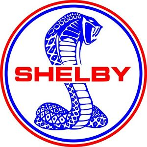 Shelby Cobra Ford Mustang Decal Sticker Car Truck Window Laptop Wall