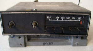 Mopar 1970 Plymouth Fury Am Radio With Cassette Plug Good Working 69 71 72 73