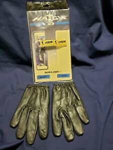 Hatch Police Search Gloves Dura thin Sg50lt X small Black New old Stock