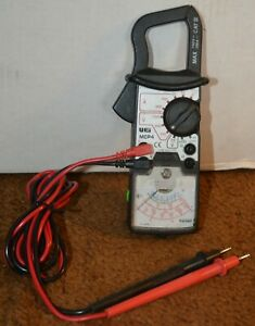 Uei Mcp4 Catiii Clamp Meter Vom With New Test Leads Battery