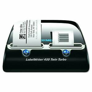 Dymo Label Writer 450 Twin Turbo Label Printer 71 Labels Per Minute 1750160