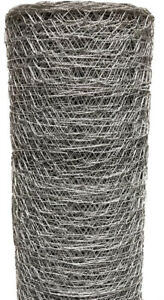 Poultry Netting 6 Ft X 150 Ft Chicken Wire Metal Mesh Fence Garden Plant Fencing