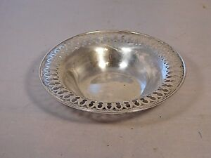 Towle Sterling Silver Reticulated Bowl 9653