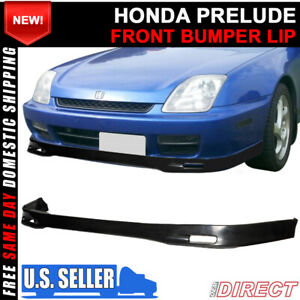 For 97 01 Honda Prelude Spoon Front Bumper Lip Spoiler Jdm