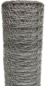 Poultry Netting 72 In X 50 Ft Chicken Wire Metal Mesh Fence Garden Plant Fencing