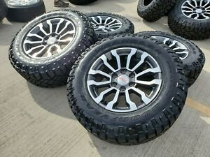 18 Gmc Sierra At4 Chevy Silverado 2019 Oem Wheels Rims Tires A t 2018 New 6x139