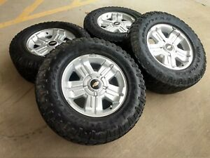 18 Chevy Tahoe Suburban Silverado Oem 5646 Wheels Rims Tires 2016 2017 2018