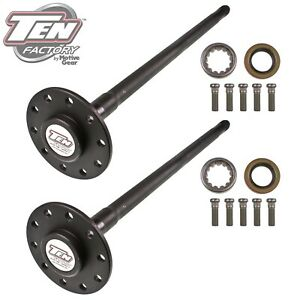 Ten Factory Mg22109 Performance Axle Kit Fits 68 72 Camaro Chevelle El Camino