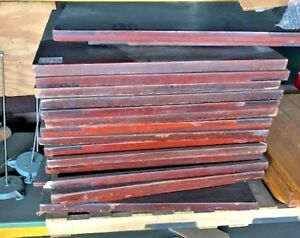 17 Wood Tabletops 36 x36 Dining Commercial Restaurant Used