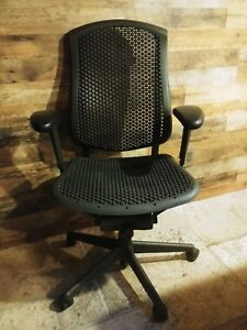 Herman Miller Celle Executive Office Chairs Qty 7