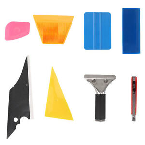7pcs Car Glass Window Protective Film Installing Tool