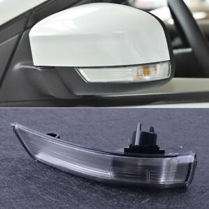 Left Wing Mirror Turn Signal Light Lens Frame 8m5113b382aa For Ford Focus 08 16