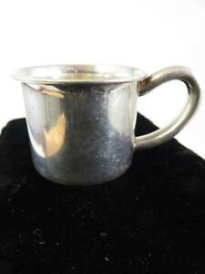 Vintage Baby Cup Lunt Sterling For Boy Or Girl No Monogram