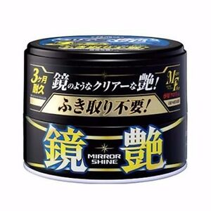 Soft99 Mirror Shine Wax Dark 200g Japan Detailing Car Auto Brand New