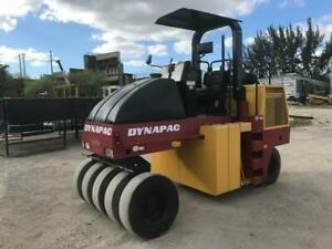 2004 Dynapac Cp142 Pneumatic Compactor Asphalt Finisher Ready To Work