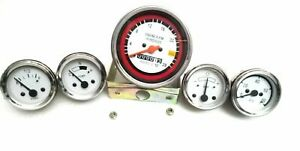 Oliver White Tachometer Gauges 1750 1755 1850 1855 1950 1955 2050 2150 Kit