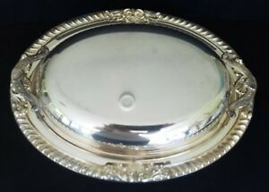 Vintage Bristol Silver Plate By Poole Covered Casserole Serving Dish Beautiful