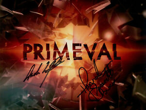 Primeval Andrew Lee Potts & Hannah Spearritt Signed Autograph 8