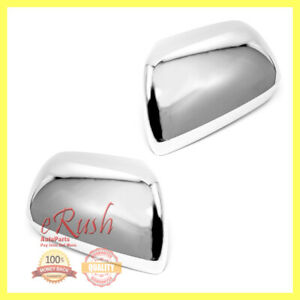 For 2011 2012 2013 2014 2015 Toyota Sienna Chrome Side Mirror Covers Cover Fast