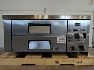 New True Trcb 48 Two Drawer Refrigerated Chef Base Cooler