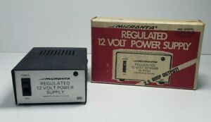 Micronta 22 124a Regulated 12 Volt Power Supply 120 Vac To 12 Vdc