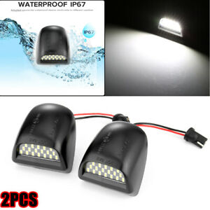 Smd Led License Plate Lights Lamp For Chevy Silverado 1999 2013 Avalanche Bright
