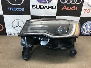 2017 2018 Jeep Grand Cherokee Left Side Led Proyector Type Headlight Used Oem