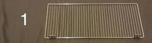 Lot Of 10 Wire Shelf Divider Fence Fits Gondola Lozier Madix Shelving size Below