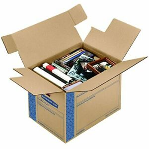 Box Smoothmove Prime Moving Boxes Tape free Fast fold Assembly 16 x 12 x 12