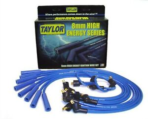 Taylor Cable 64671 Spark Plug Wire Set Blue