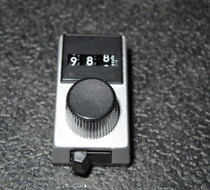 Clarostat Digidial Dr300 3 Digit Counter New