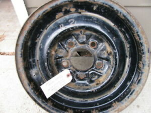 48 49 50 51 52 53 54 55 1948 1955 Cadillac Wheel Rim 15x6 With Rubber Inserts