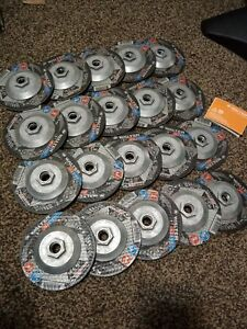 Lot Of 20 New Walter 08 c 457 Grinding Wheels 4 1 2 X 1 8 X 5 8 All Steel