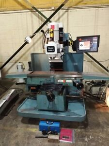 Southwestern Industries Prototrak Fhm 5 2007 Cnc Bed Mill