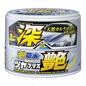 Soft99 Water Block Wax Gloss Type Pearl Metallic Brand New