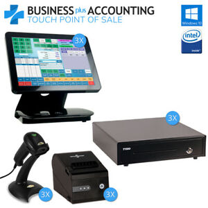 Bpa Elite Touch Pos System 3 Stations