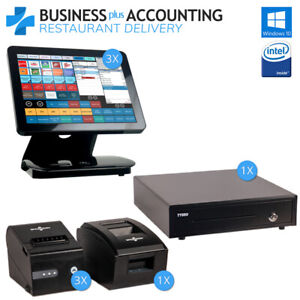 Bpa All in one Restaurant Pos Delivery System 3 Stations