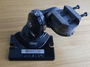 Rockwell Univise Universal Angle Adjustable Grinding Drilling Vise Fixture