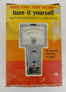 Vintage Rac Dwell Tachometer Points Tach Tester Model 590 Auto Mechanic Tool