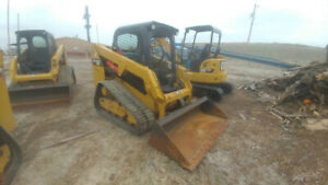 2015 Caterpillar 239d Track Skid Steer Loader 1364hrs 67hp Used