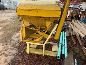 Concrete Dumping Attachment For Skid Loader