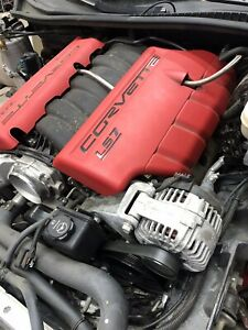 2008 C6 Corvette Z06 7 0 Ls7 427 Engine With 43 462 Miles
