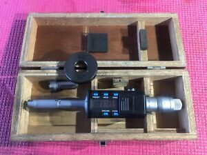 Mitutoyo Intrimik Bore Holtest Inside Micrometer 5 To 8 In W 1 Ring Machinist